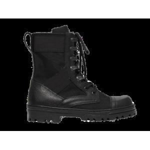 Ботинки с высокими берцами Юнармия, черные (24-1-003)