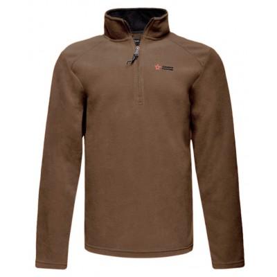 Джемпер мужской флисовый, коричневый (40-1-052)
