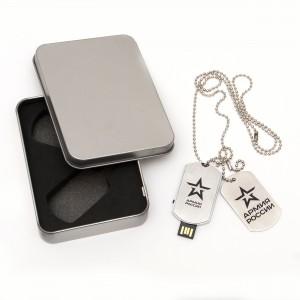 Флешка-жетон с нанесением 16 ГБ (48-1-006)