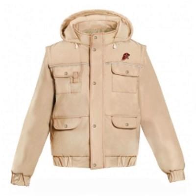 Куртка-ветровка Юнармия, бежевая (20-1-001)