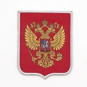 Нарукавный знак Герб РФ Юнармия (26-1-007)