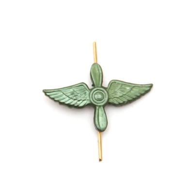 Петличный знак Авиация ВВС, защитный (5-2-023)
