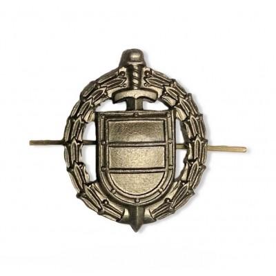 Петличный знак ФСО нового образца, защитный (5-2-045)