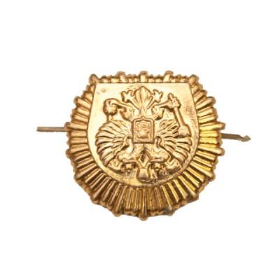 Петличный знак кадетского образования, золотой (5-2-003)