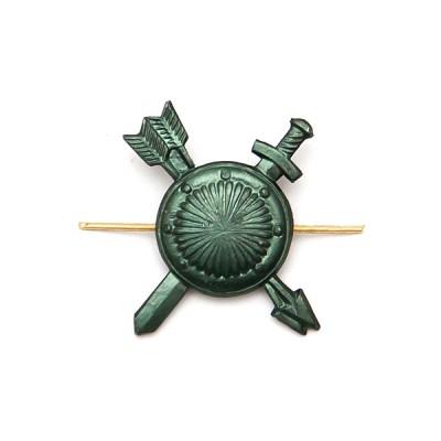 Петличный знак РВСН, защитный (5-2-021)