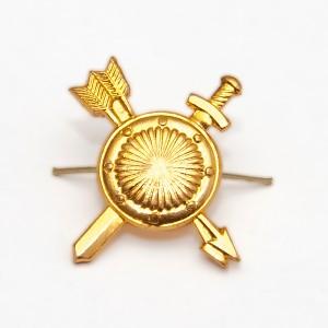 Петличный знак РВСН, золотой (5-2-014)