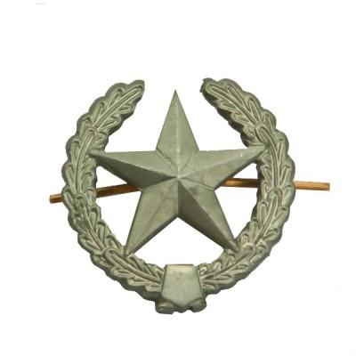 Петличный знак сухопутных войск старого образца, защитный (5-2-031)