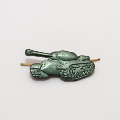 Петличный знак Танк, защитный (цена за пару) (5-2-027)