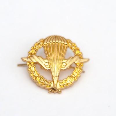 Петличный знак ВДВ старого образца, золотой (5-2-013)