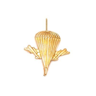 Петличный знак ВДВ, золотой (5-2-006)
