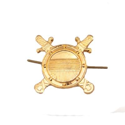 Петличный знак Внутренняя служба, золотой (5-2-037)