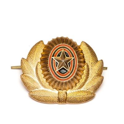 Кокарда РА большая, золотая (5-1-005)