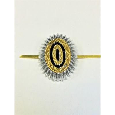 Кокарда ФСО нового образца, серебряная (5-1-033)