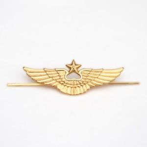 Эмблема на тулью ВВС нового образца, золотая (5-1-028)