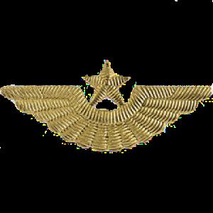Эмблема на тулью ВВС старого образца, времен СССР (5-1-031)