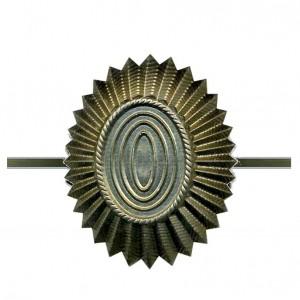 Кокарда РА малая, нового образца, защитная (5-1-004)