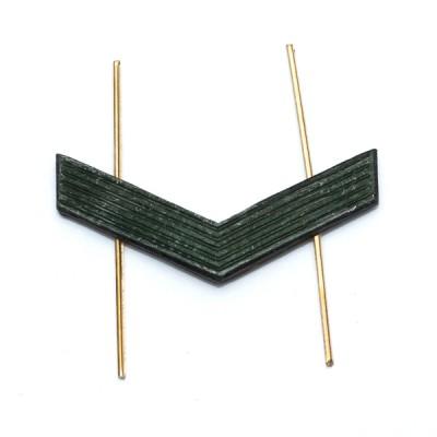 Лычка металлическая Ефрейтор, защитная (5-5-007)