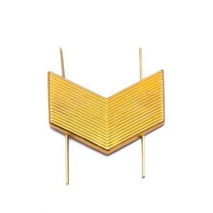 Лычка металлическая Старший сержант, золотая (5-5-004)