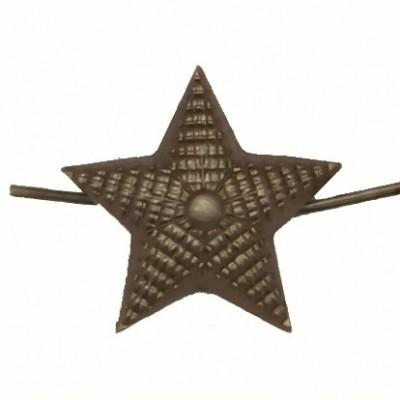 Звезда металлическая 20 мм, рифленая, защитная (5-5-020)