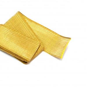 Галун желтый шелк, шир-10мм (цена за 10 см) (6-3-008)