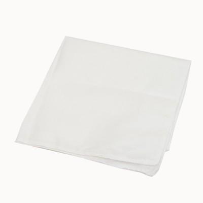 Носовой платок х/б, белый (6-3-007)