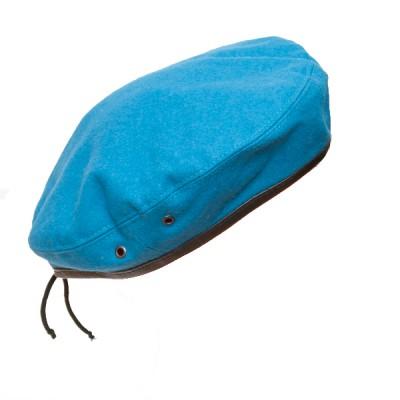 Берет суконный, голубой (2-4-002)