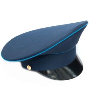 Фуражка синяя с голубым кантом и синим околышем (2-1-004)