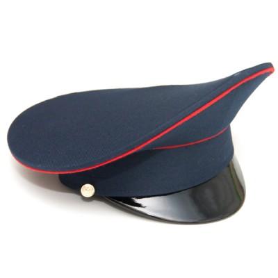 Фуражка синяя с красным кантом и синим околышем (2-1-006)