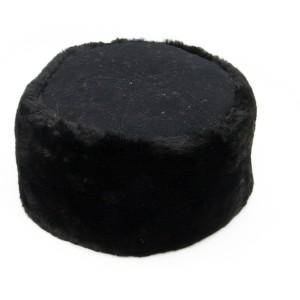 Кубанка меховая с суконным донышком, черная (2-5-002)