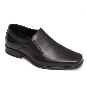 Полуботинки мужские форменные без шнурков (3-1-001)