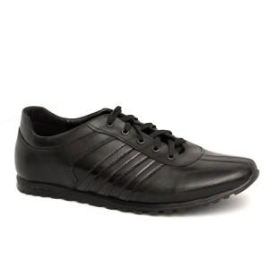 Кроссовки, черные (3-1-011)