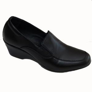 Туфли женские форменные на танкетке (3-1-002)