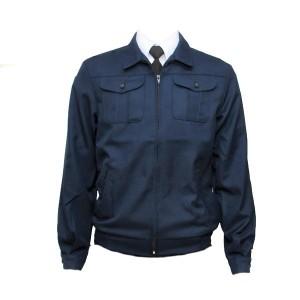 Куртка п/ш форменная, синяя (1-2-002)