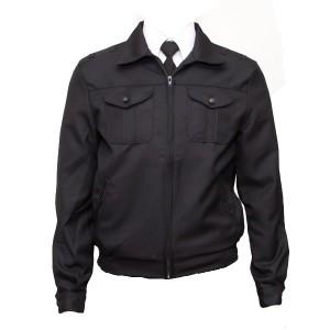 Куртка п/ш форменная, черная (1-2-001)