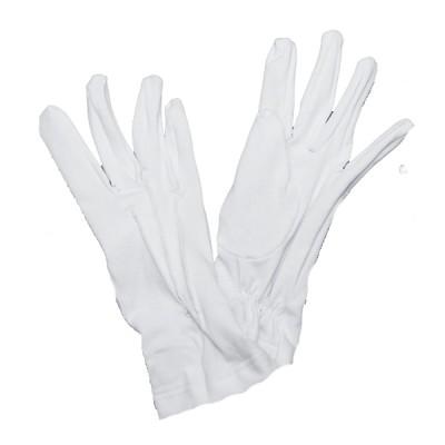 Перчатки белые кадетские (1-12-001)