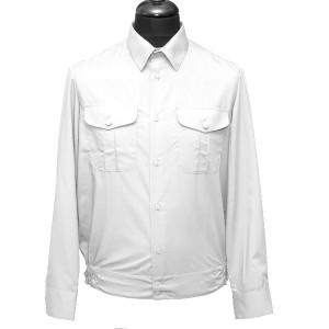 Рубашка форменная с длинными рукавами, белая (1-6-001)