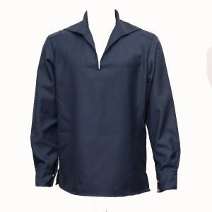 Фланелевка для матросов, шерстяная, синяя (1-6-013)