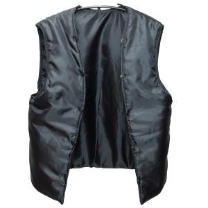 Дополнительная подстежка для пальто демизесонного, черная (1-7-005)