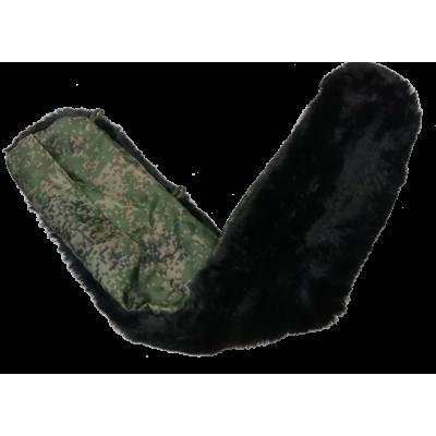 Дополнительный воротник меховой для бушлата цифра (1-7-010)