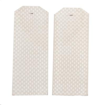 Погоны 12 см, рифленая ткань, светло-бежевые (7-1-039)