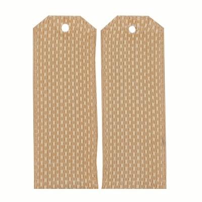 Погоны 14 см, рифленая ткань,бежевые (7-1-026)