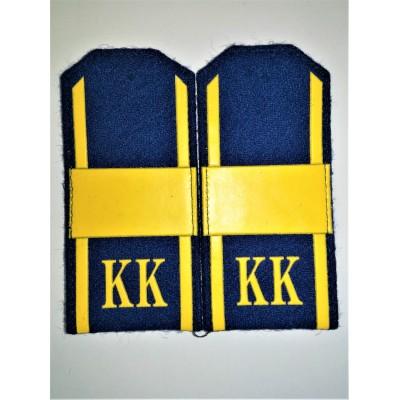 Погоны КК Ст.Сержант, 1 широкая лычка, васильковое сукно (7-1-068)