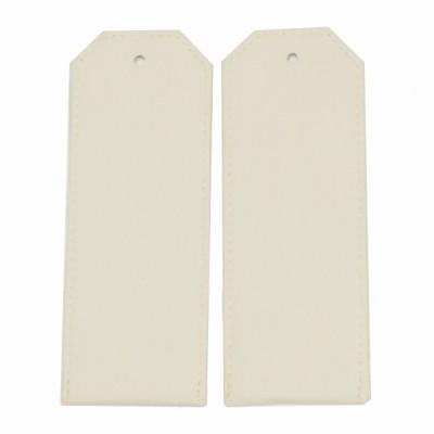 Погоны, рубашечная ткань, кремовые (7-1-007)