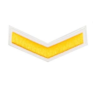 Шеврон (курсовка) 1 курс, вышивка, белый (7-3-004)