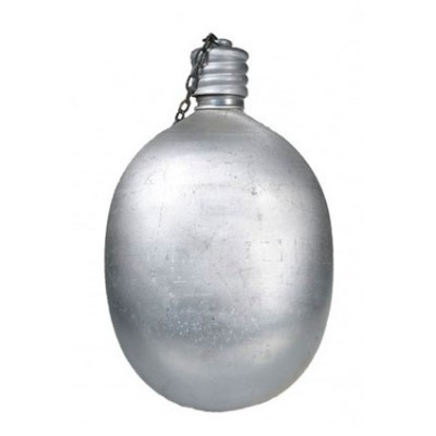 Фляга армейская алюминиевая, не крашенная (0,7л) (8-1-084)