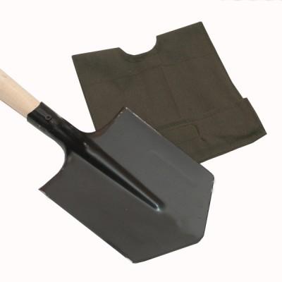 Лопатка малая пехотная (старого образца) с чехлом  (8-1-063)